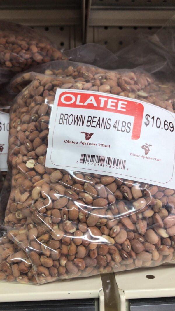 Olatee Brown Beans
